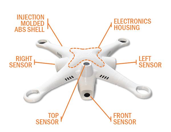 Sonar tabanlı eBumper4 sistemiyle insansız hava araçlarını uçurmak kolaylaşıyor