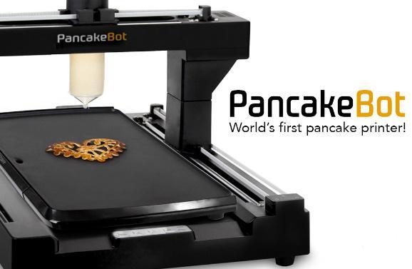 Krep yapabilen yazıcı PancakeBot Kickstarter'da başarıya ulaştı