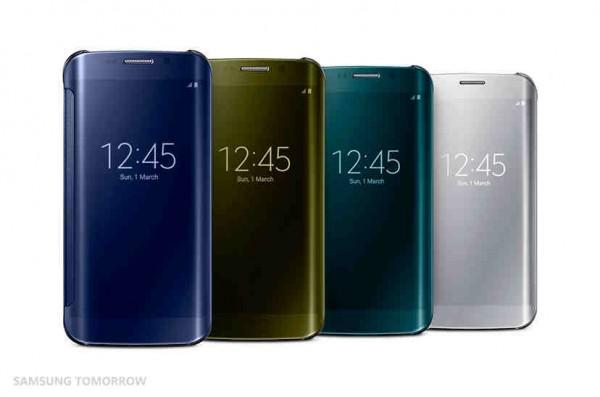 Samsung Galaxy S6 ve S6 Edge aksesuarları resmiyet kazandı