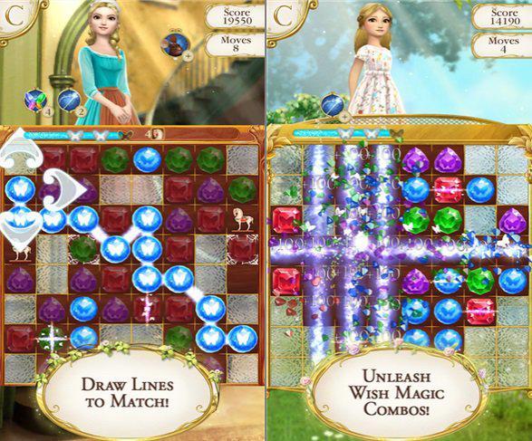 Cinderella Free Fall mobil platformlar için indirmeye sunuldu