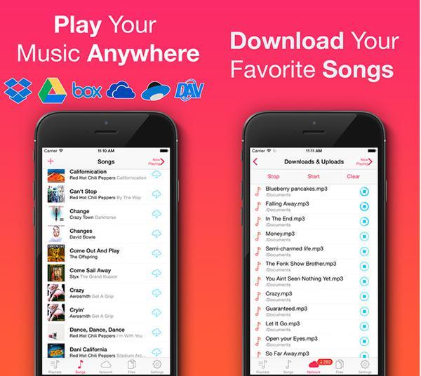 Bulut tabanlı iOS müzik uygulaması Evermusic Pro artık ücretsiz