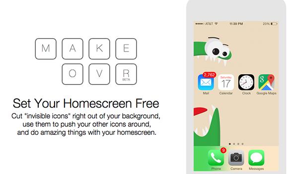 iOS cihazlar için masaüstü kişiselleştirmesi sunan yeni servis: Makeovr