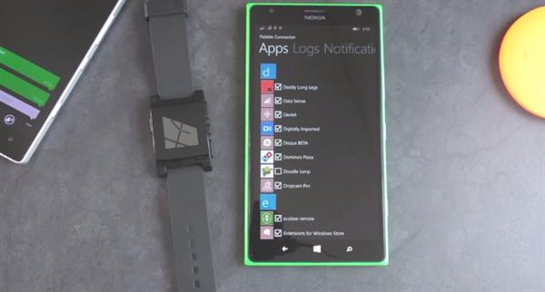 Pebble akıllı saatlerin Windows Phone uygulaması yeni özelliklerine kavuşuyor