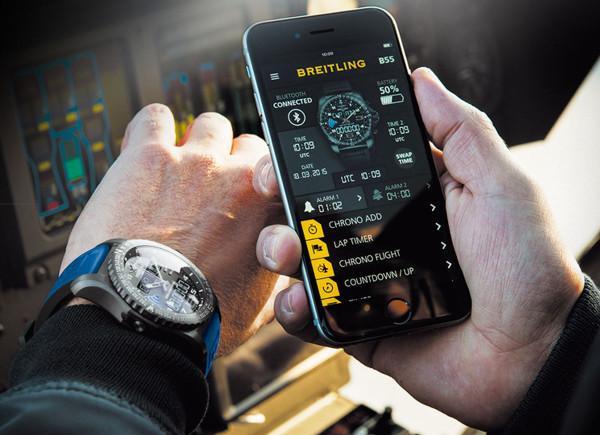 Breitling de akıllı saat pazarına girdi