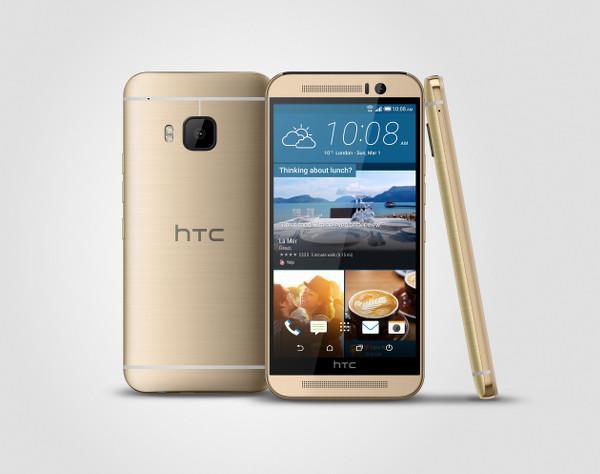 HTC One M9 ön siparişe sunuldu