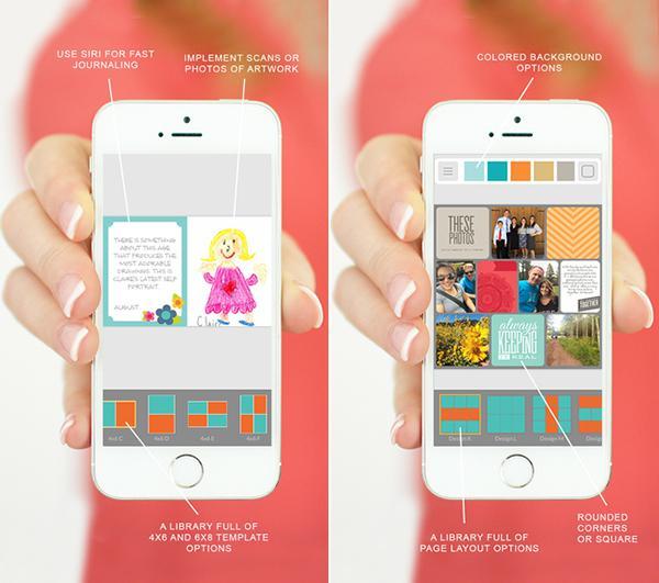 iOS uyumlu fotoğraf kolaj uygulaması Project Life ücretsiz yapıldı