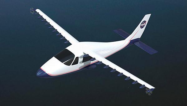 NASA, elektrikli uçaklar için geliştirdiği yeni kanat teknolojisini test etmeye başladı