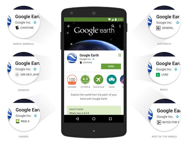 Google Play Store yaş sınırı ve değerlendirme kriterleri değişiyor