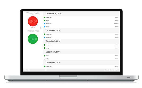TimeTag'ın OSX versiyonu kısa bir süre için ücretsiz