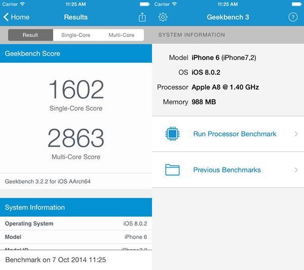 Geekbench 3'ün iOS sürümü ücretsiz yapıldı