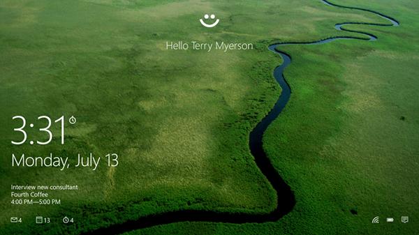 Microsoft, Windows 10 için geliştirdiği 'Windows Hello' isimli yeni giriş sistemini tanıttı