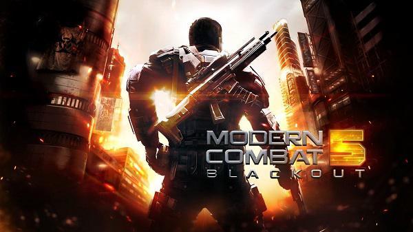 Modern Combat 5'in güncellenen iOS sürümü kısa bir süreliğine ücretsiz