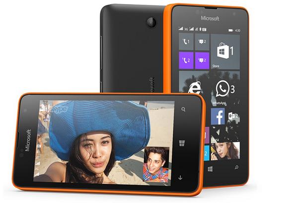 Microsoft'un en ucuz akıllı telefonu Lumia 430 resmiyet kazandı
