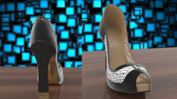 Volvorii Timeless projesi ile akıllı ekranlar ayakkabılara geliyor
