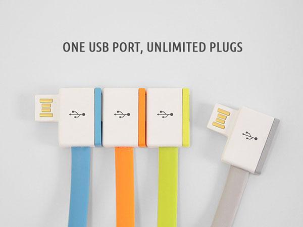 Tek USB portundan birden fazla mobil cihaz desteği: InfiniteUSB
