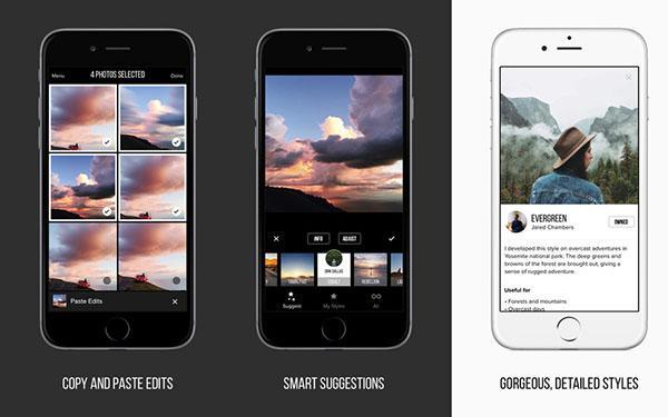 iOS için yeni jenerasyon fotoğraf editörü: Priime