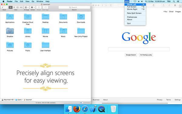 Mac uyumlu Split Screen uygulaması kısa bir süre için ücretsiz
