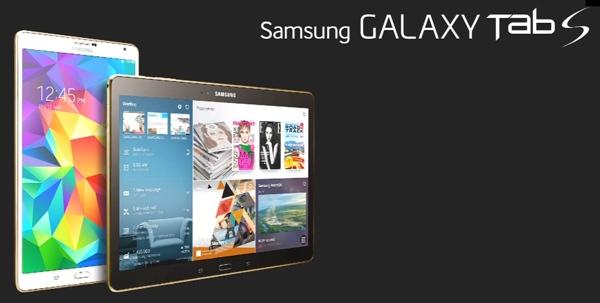 Samsung Galaxy Tab S 10.5 Wi-Fi modeli Lollipop'a terfi ediyor
