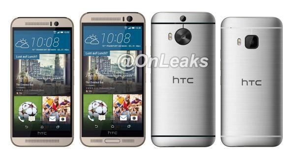 HTC One M9 Plus modeline ait yeni bir görsel yayımlandı