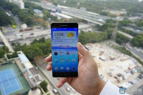 Oppo'nun ince ekran çerçeveli akıllı telefonu internete sızdırıldı