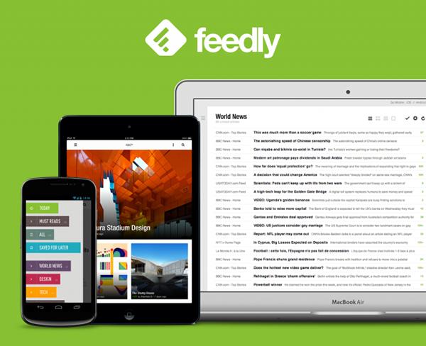 Feedly'nin Android ve iOS uygulamaları güncellendi