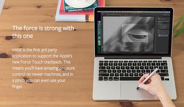 Ten One Design, Mac uyumlu Inklet uygulamasına basınç hassasiyet desteği ekledi