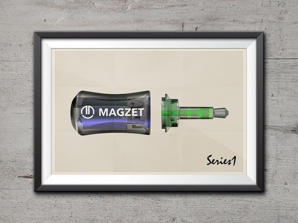 MAGZET projesi mobil cihazlara MagSafe tarzı bir koruma sağlama amacında