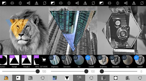 Window Phone'un popüler fotoğraf editörlerinden Masks, bütün maskelerini ücretsiz sunmaya başladı