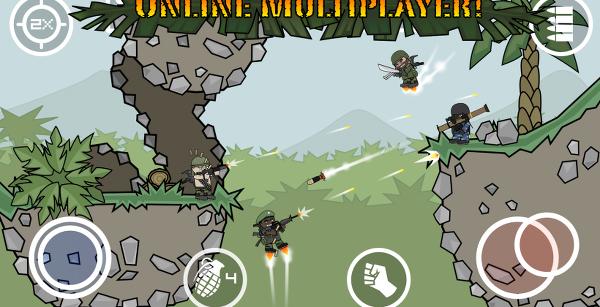 Doodle Army 2 : Mini Militia ile DA serisine devam