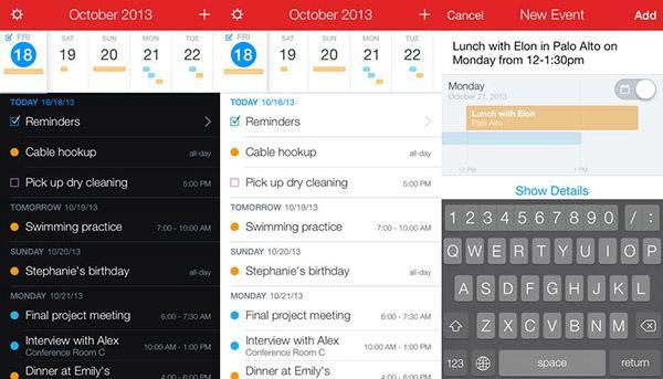 Fantastical 2'nin iPad sürümü indirime girdi