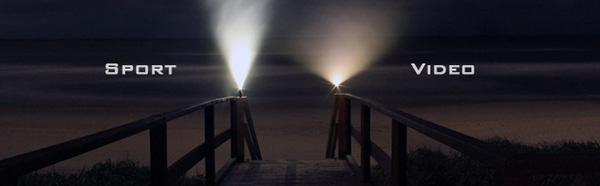 GoPro bağlantısı, 300 metre su geçirmezlik, dokunmatik kontrol: Gelişmiş el feneri Flame Angel
