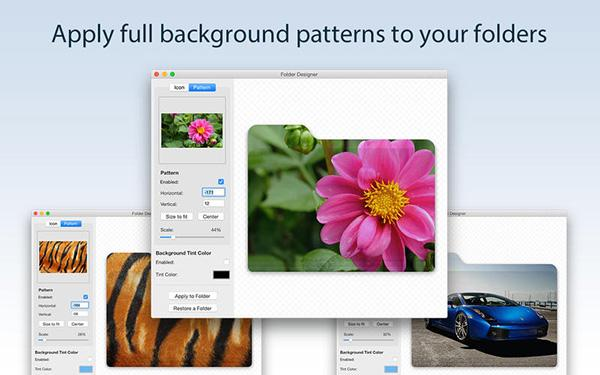 Mac uyumlu Folder Designer artık ücretsiz