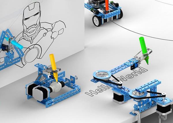 Dördü bir arada çizim robotu mDrawBot, Kickstater'da aradığı desteği bulmayı başardı