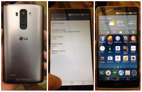 Yeni bir LG akıllı telefonu internete sızdırıldı