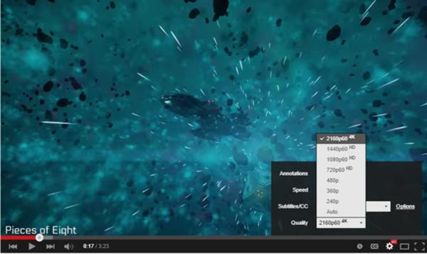 YouTube, saniyede 60 karelik 4K video denemelerine başladı