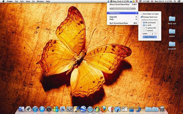 Kişisel güvenlik odaklı Mac uygulaması ScreenSaverNow ücretsiz yapıldı
