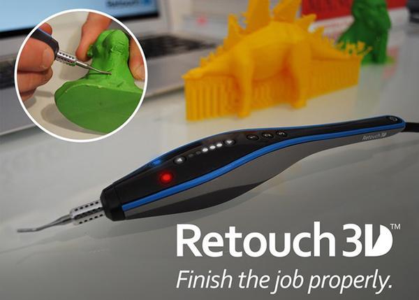 Retouch3D: Üç boyutlu baskılar için etkili temizleme cihazı