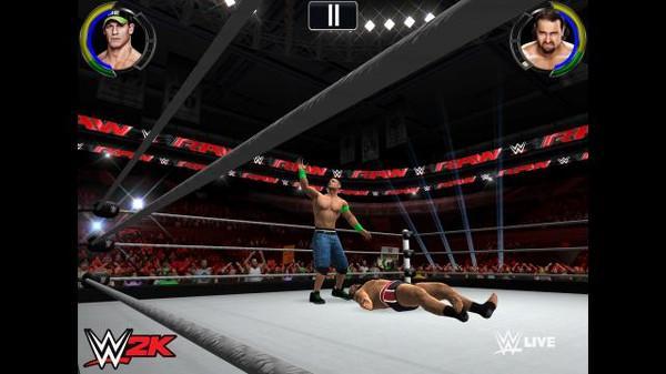 WWE 2K ile konsoldakine benzer güreş maçları geliyor