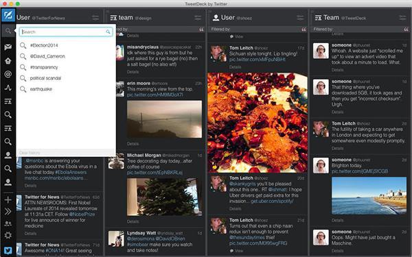 Twitter istemcisi TweetDeck güncellendi