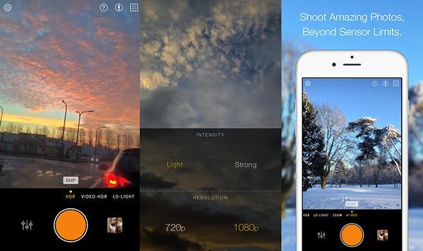 iOS uyumlu gelişmiş fotoğraf uygulaması Hydra indirimde