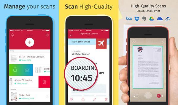 Doküman tarama temelli uygulamalardan Scanbot, iOS ve Android platformlarında güncellendi