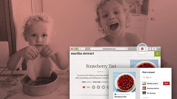 Pinterest, hızlı imleme için geliştirdiği yeni butonunu tanıttı