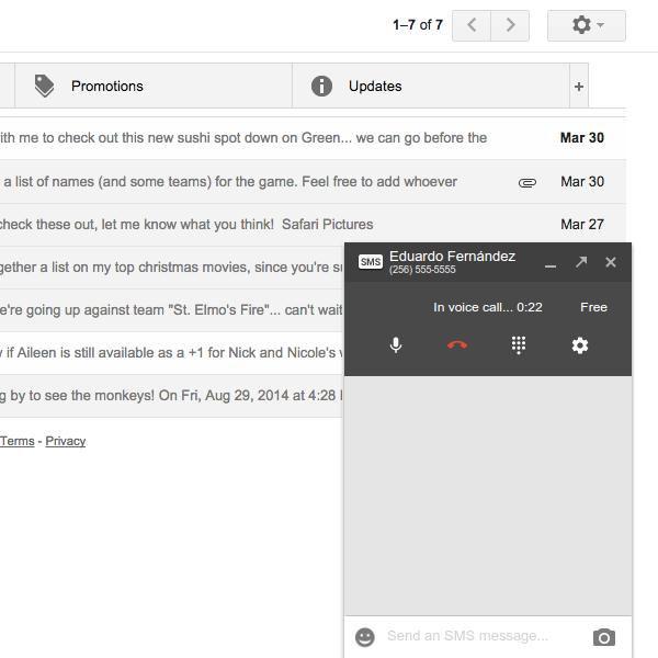 Google Hangouts ile arama yapma süreci hızlanıyor