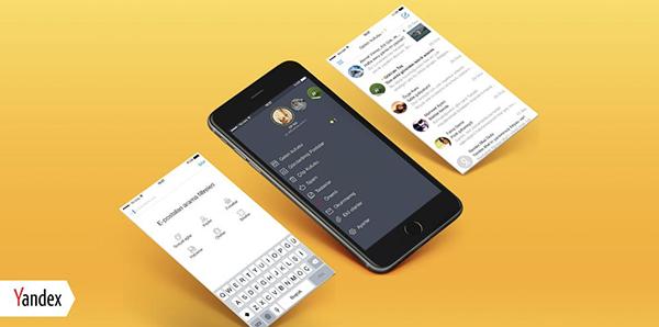 Yandex.Mail'in iOS uygulaması tasarımsal olarak yenilendi