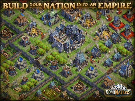 Strateji oyunu DomiNations mobil platformlar için yayımlandı
