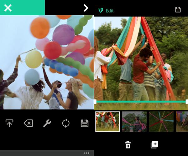 Windows Phone için Vine güncellendi
