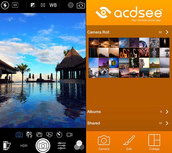iOS için geliştirilen ACDSee artık ücretsiz