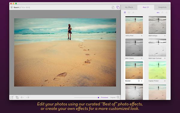 Mac uyumlu fotoğraf uygulaması Flare 2 kısa bir süre için %50 indirime girdi