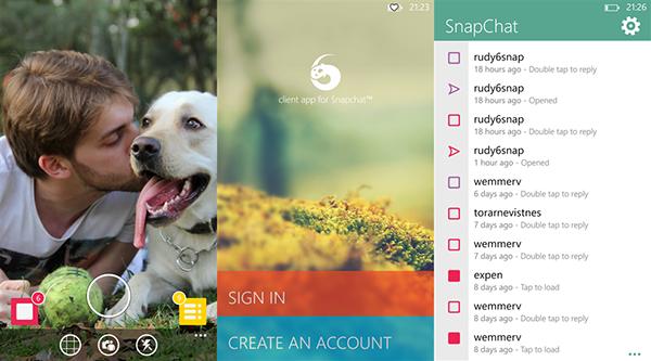 Snapchat uygulaması 6snap, Windows Phone markete geri dönemeyecek