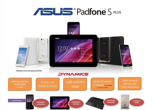 Asus PadFone S bazı güncellemelerle yeniden piyasada